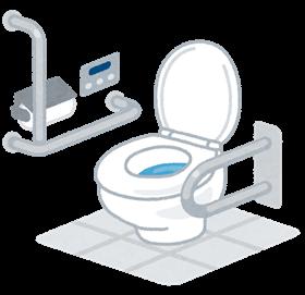 トイレでの車椅子介助