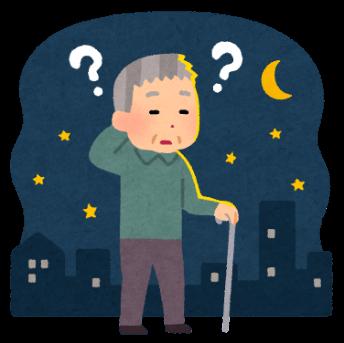 認知症‗中核症状‗見当識障害